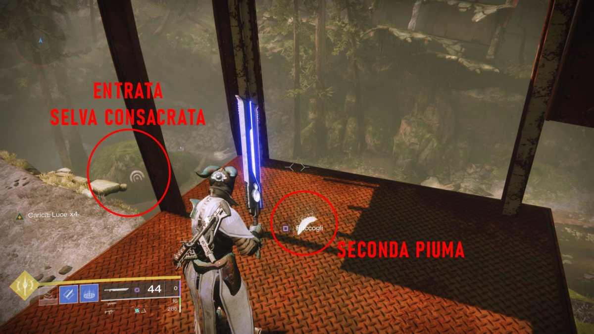 Seconda piuma per il Falco Lunare in Destiny 2