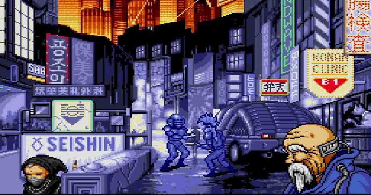 Snatcher, Snatcher Hideo Kojima, una scena di Snatcher di Hideo Kojima, Konami, Snatcher Cyberpunk