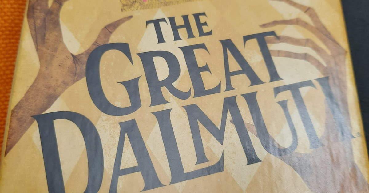 Fronte della scatola di The Great Dalmuti 2020, grande