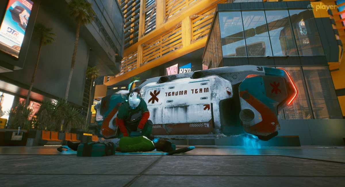 trauma team cyberpunk 2077