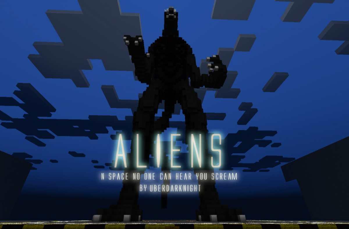Minecraft Aliens