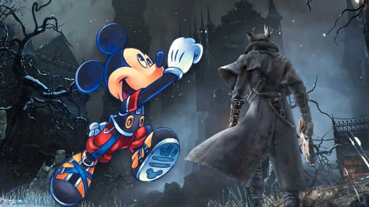 disney bloodborne crossover