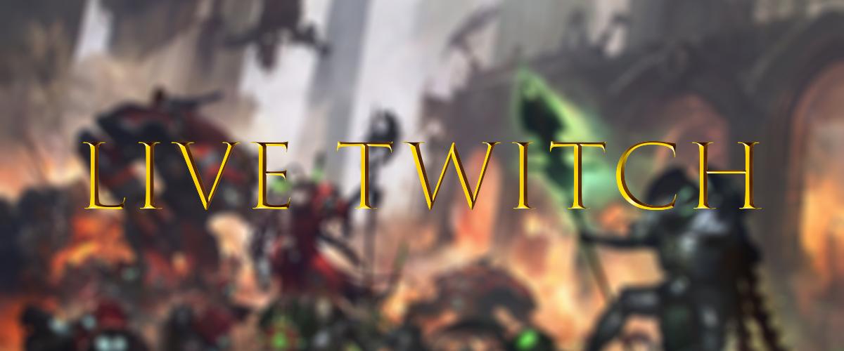 Sezione Live Twitch