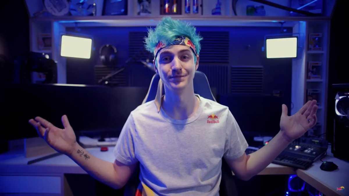 Lo streamer Ninja
