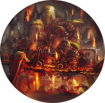 Old Firesnout di Anvilgard in Age of Sigmar