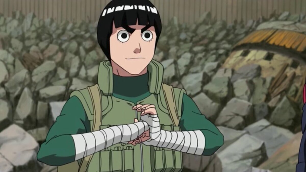 Rock Lee Naruto