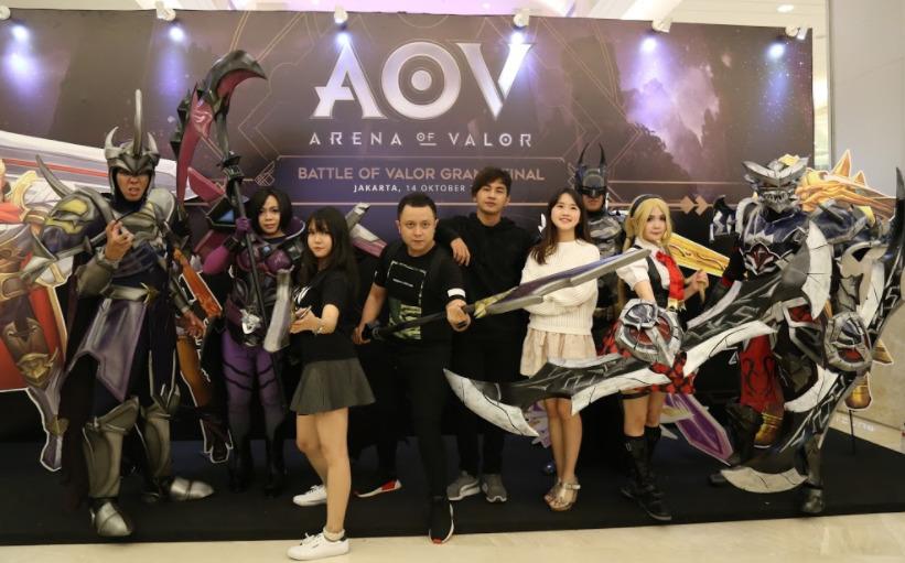 cosplayer di Arena of Valor