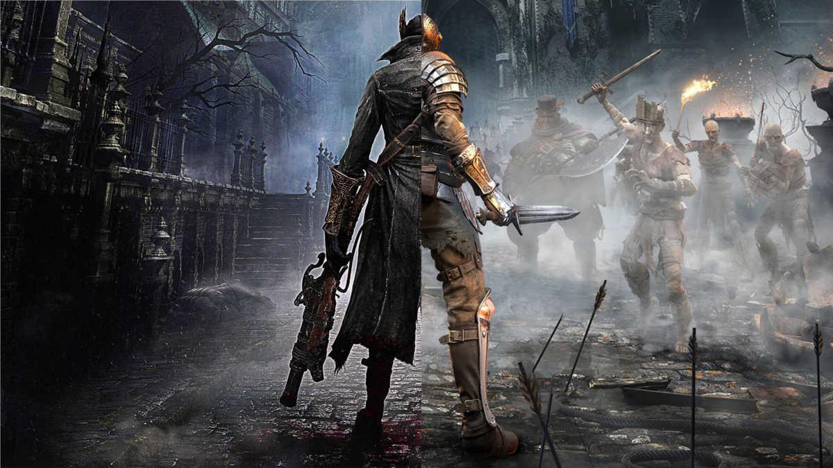 bloodborne demon souls chalice dungeon collegamento