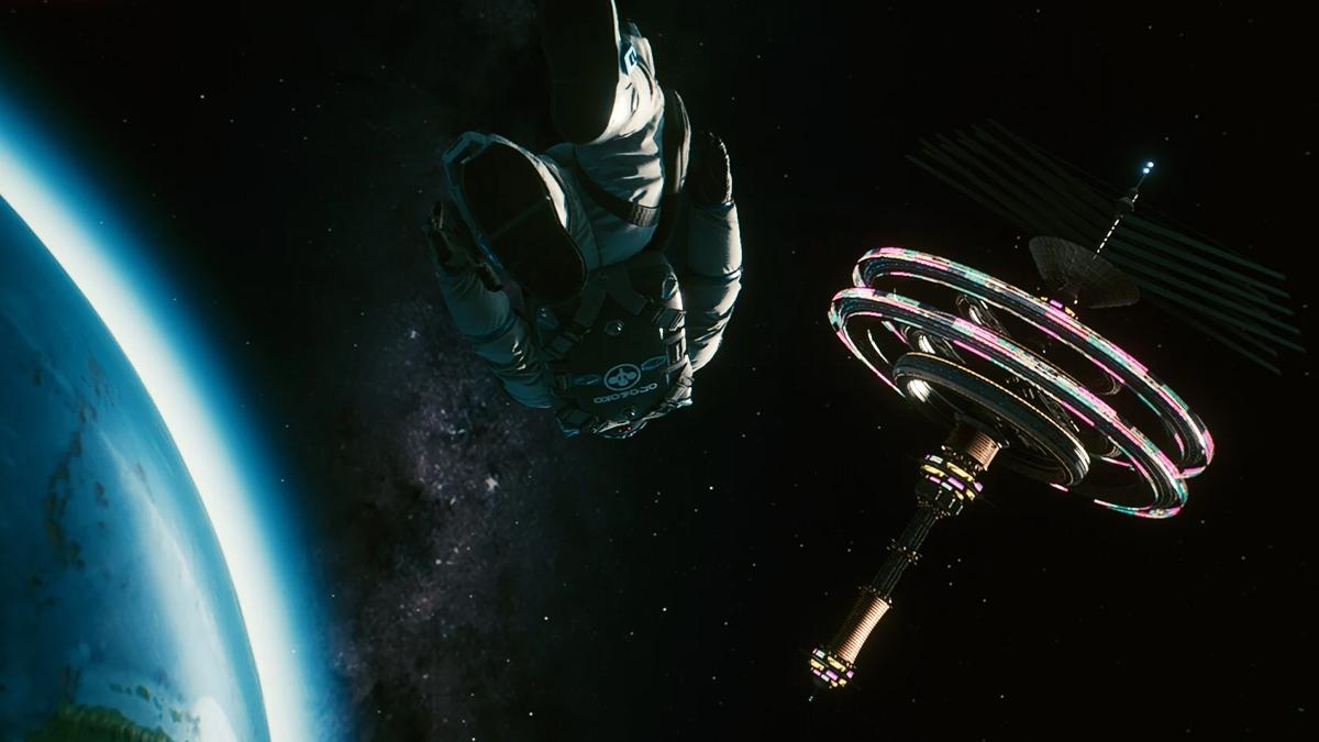Cyberpunk 2077, vista del casino dell'Arasaka