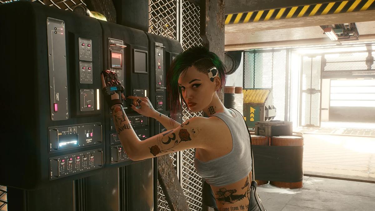 Judy di Cyberpunk 2077