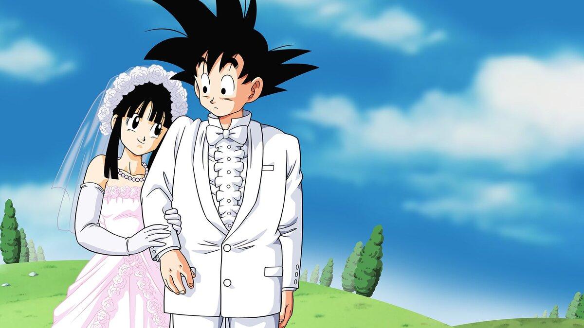 Matrimonio di Chichi e Goku