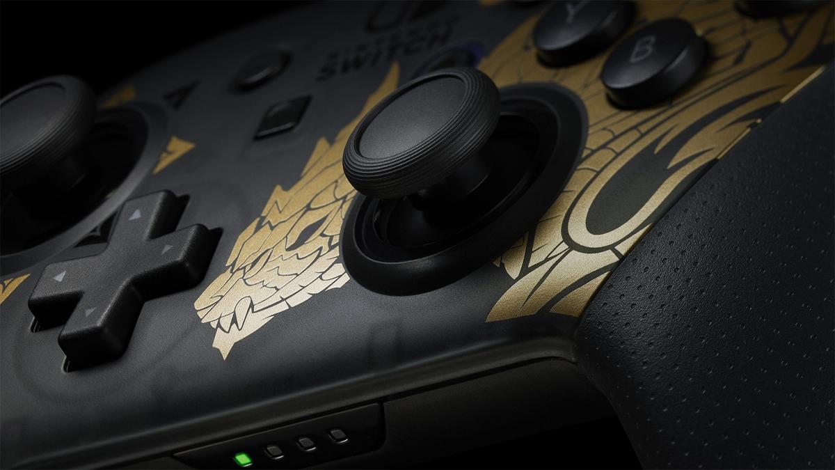 Gamepad Pro Nintendo Switch Monster Hunter Rise