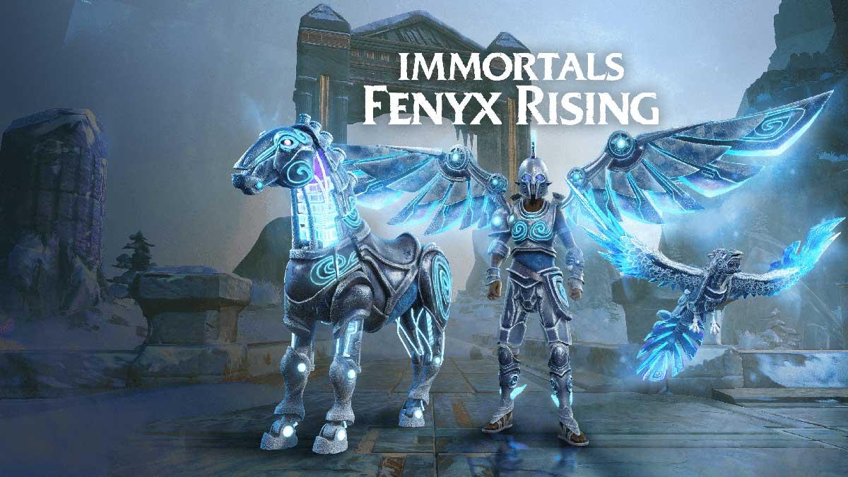 immortals fenyx rising tutte le cavalcature uniche