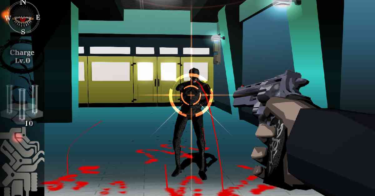 Killer7, Suda 51, screenshot Killer7, Harman Smith
