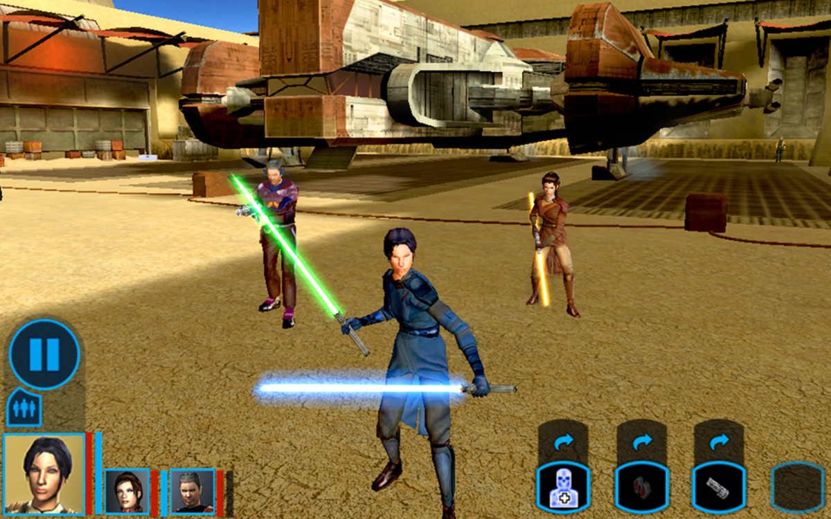 Schermata di Star Wars: Knights of the Old Republic
