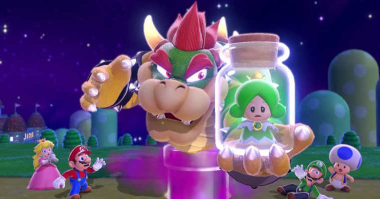 mario 3d world bowser's fury
