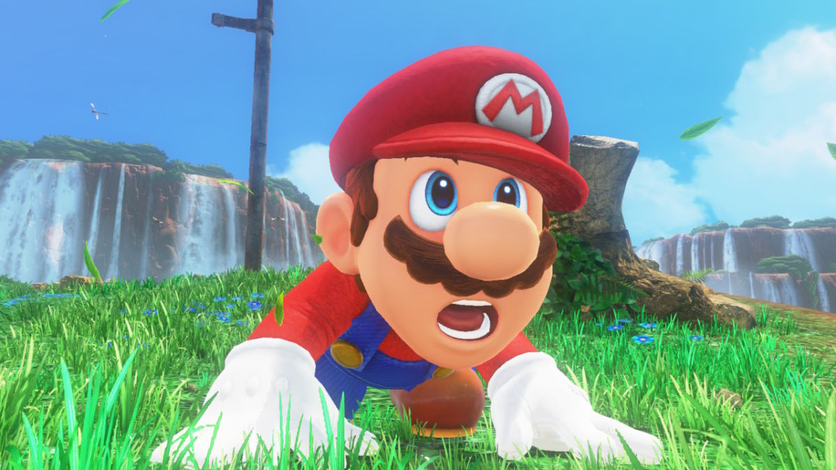 Super Mario esclama: Oh mamma mia!