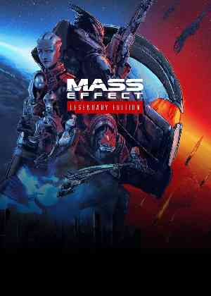 locandina del gioco Mass Effect Legendary Edition
