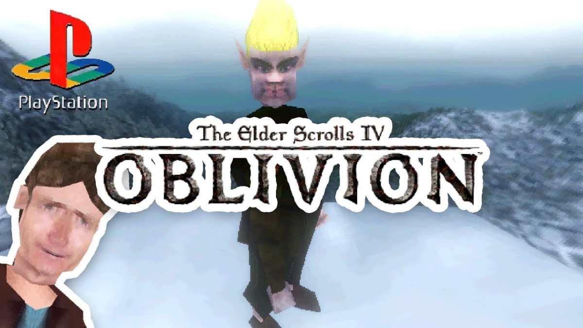 the elder scrolls iv oblivion demake