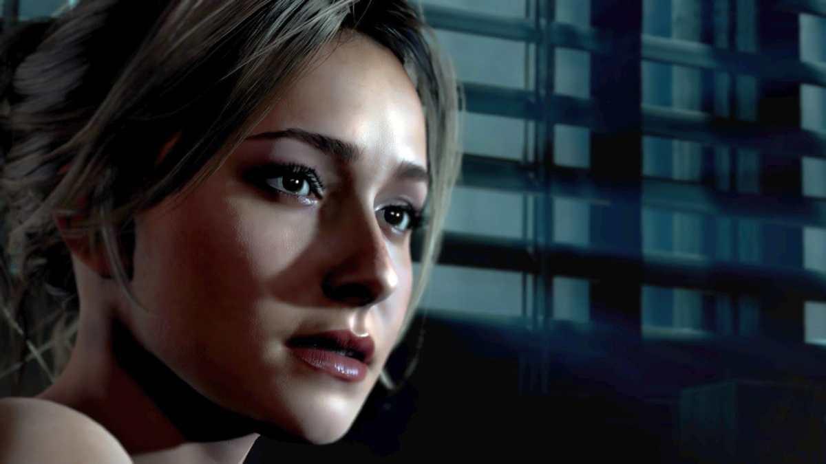 Hayden Panettiere nel videogioco Until Dawn