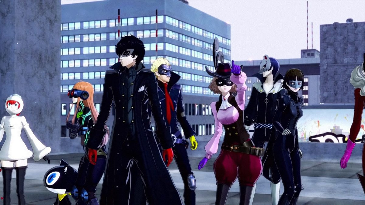 persona 5 strikers nuovo trailer