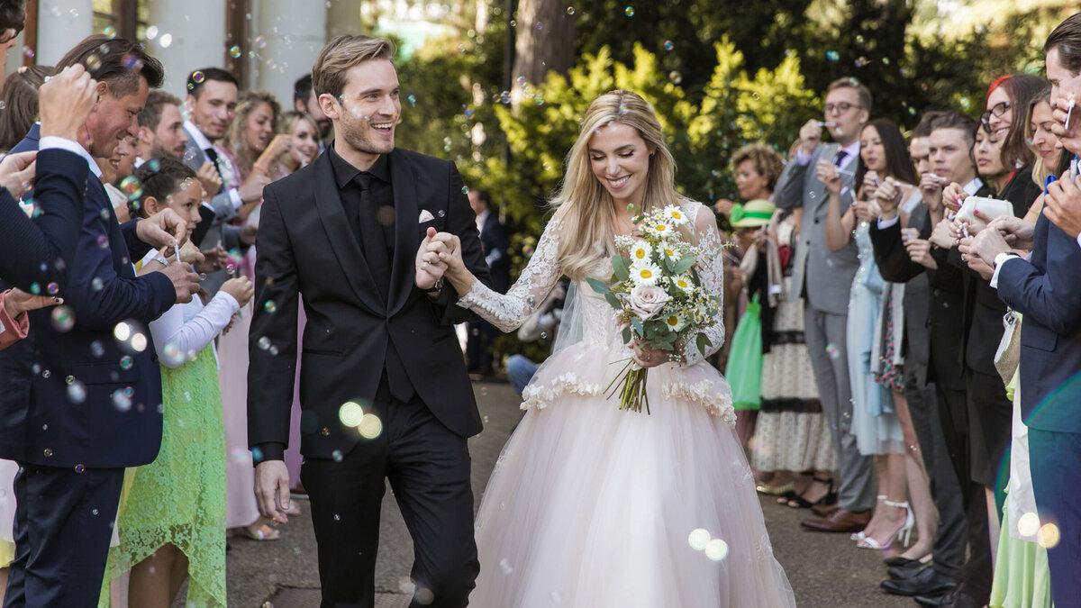 Matrimonio di PewDiePie e Marzia