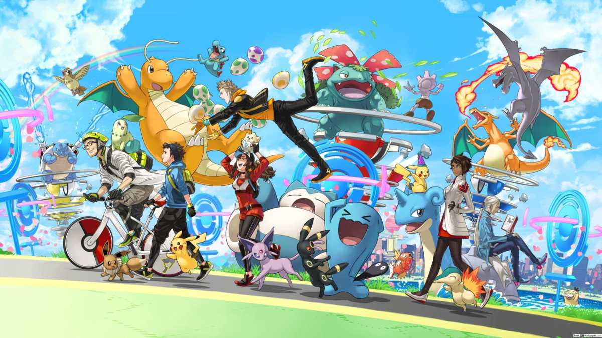 aggiornamento di pokémon go, tanti pokémon