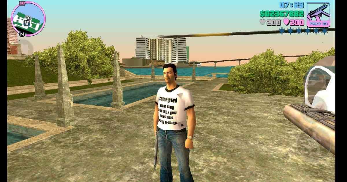 GTA: Vice City, Grand Theft Auto Vice City, GTA Vice City screenshot, Tommy Vercetti GTA Vice City