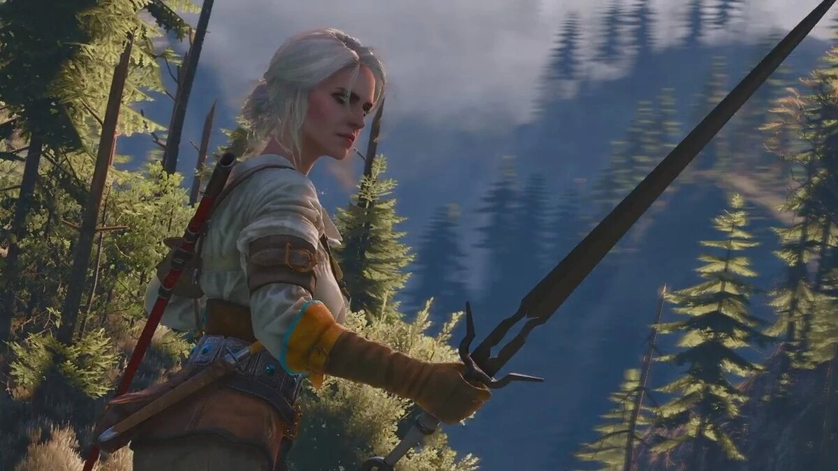 Ciri in The Witcher