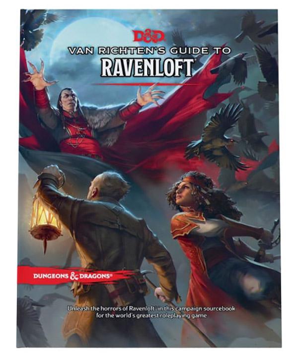 Copertina del manuale Van Richten's Guide to Ravenloft