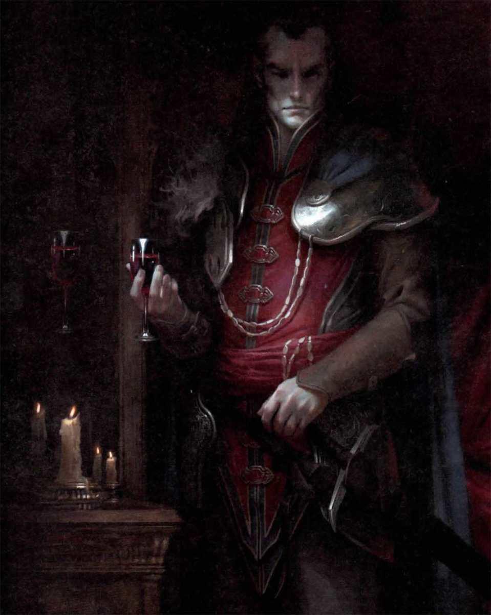 Il conte vampiro Strahd di Barovia