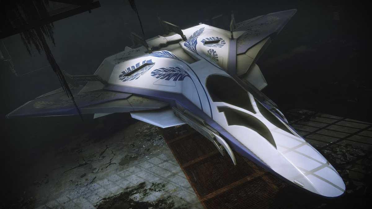 Nave della missione Araldo in Destiny 2