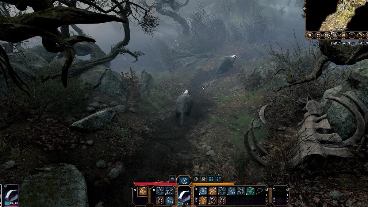 Forma animale del Druido di Baldur's Gate 3