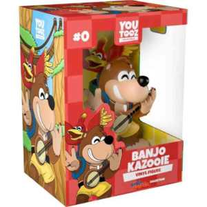 Banjo-Kazooie, banjo-kazooje action figure, action figure banjo-kazooie