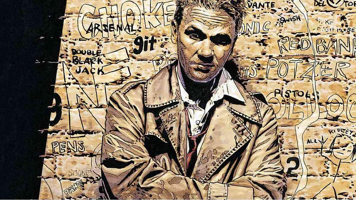 Constantine, Hellblazer, john Constantine, John COnstantine serie TV, Constantine serie TV, Hellblazer serie tv, HBO Max