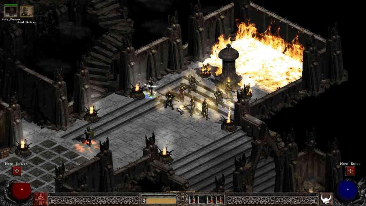 Diablo 2, DIablo 2 Resurrected, Diablo 2 remake, activision blizzard, blizzconline, blizzcon