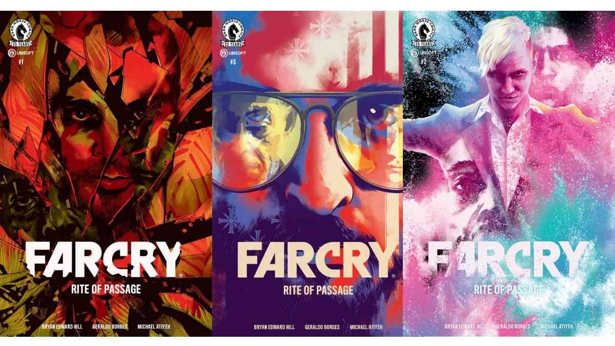 Far Cry, Far Cry fumetto, Far cry rite of passage, far cry 3, far cry 5, far cry 4