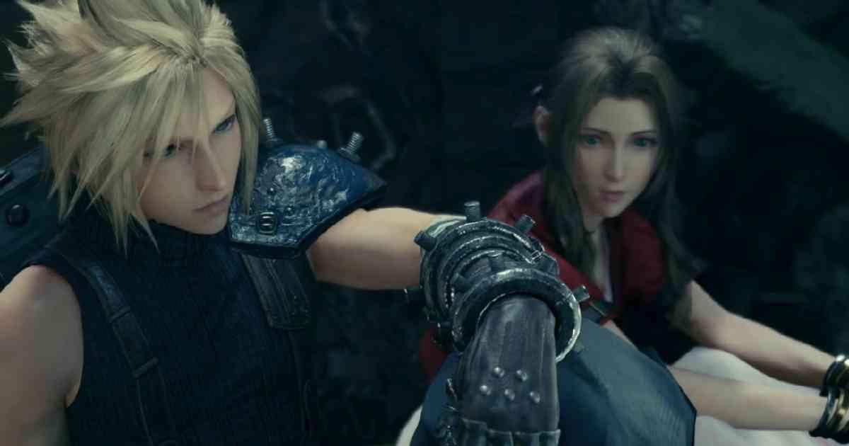 final fantasy VII Remake, Final Fantasy Cloud e Aeris, Final Fantasy VII Cloud, Final Fantasy VII Aeris