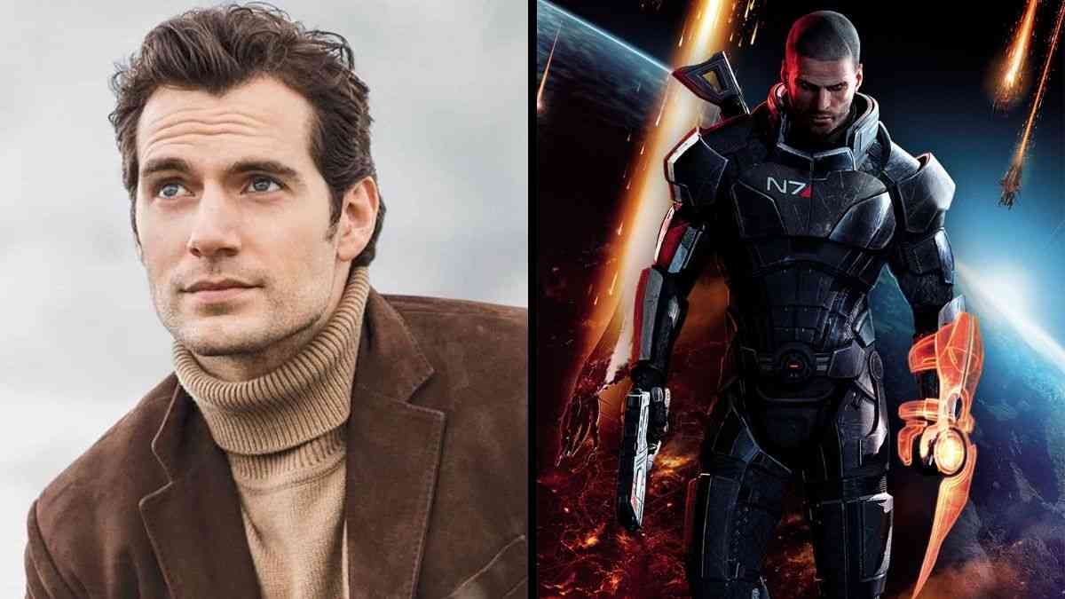 mass effect, mass effect film, mass effect film henry cavill, the witcher netflix