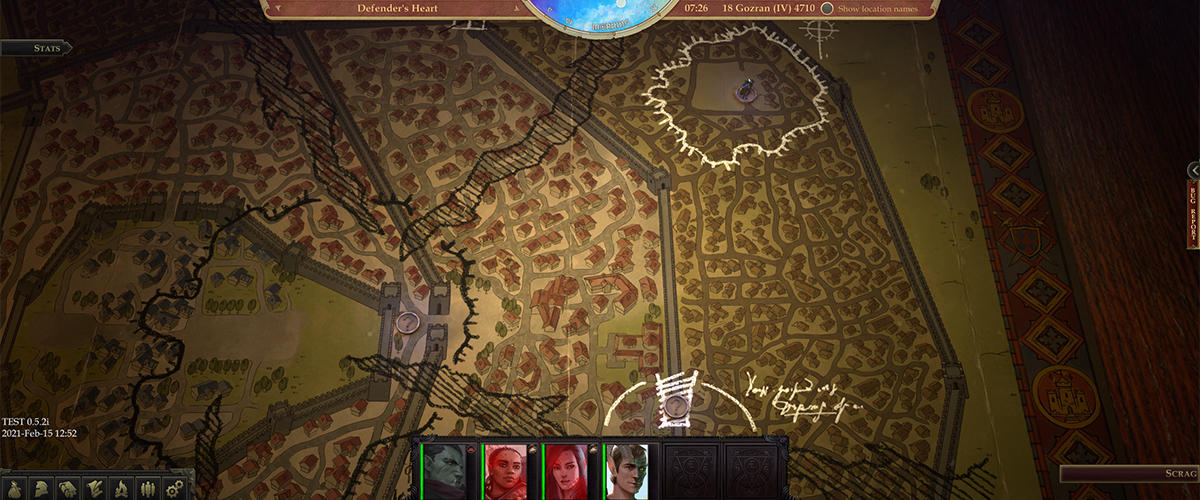 Mappa strategica di Pathfinder: Wrath of the Righteous
