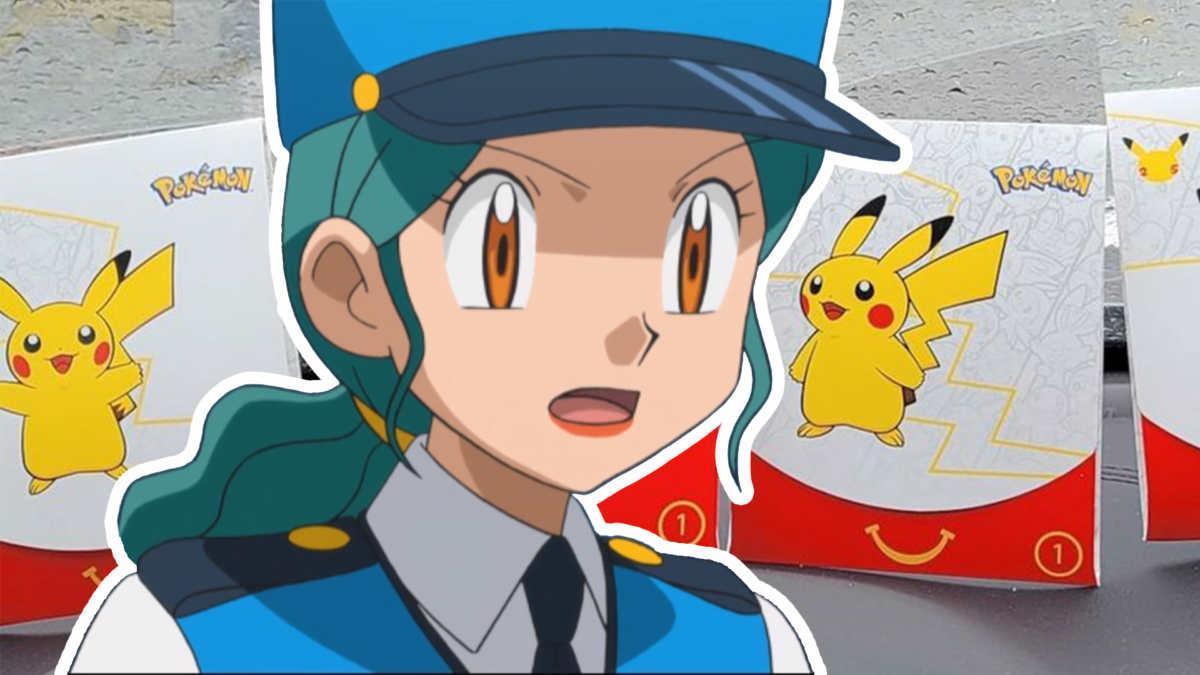 Agente Jenny di Pokemon stupita dalle vendite dell'Happy Meal al mercato nero