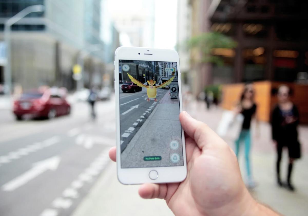 Pokémon GO per strada