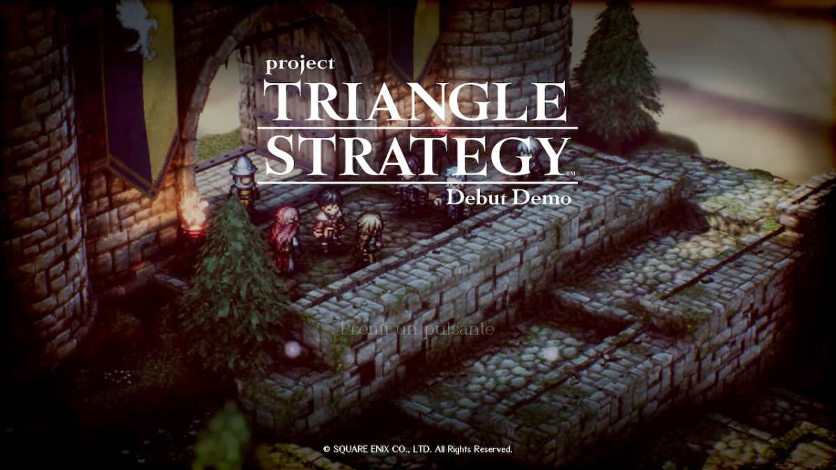 project triangle strategy grafica