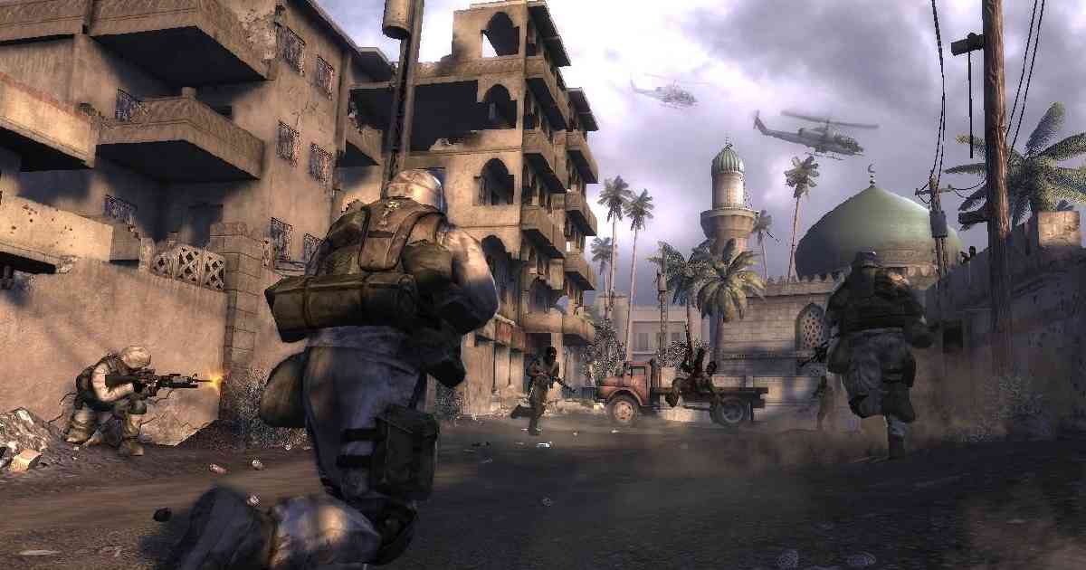 Six days in Fallujah, Highware games, giochi sulla guerra in Iraq