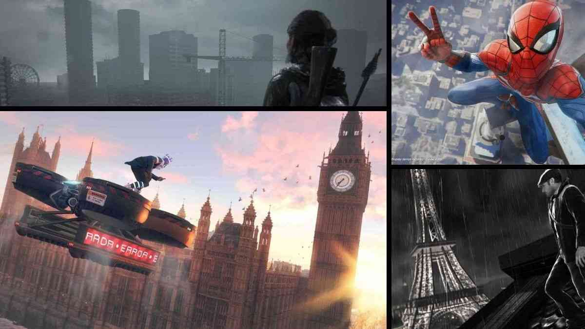 giochi ambientati in città reali, new york videogiochi, londra videogiochi, parigi videogiochi, the last of us parte II, Assassin's Creed II, Watch Dogs: Legion, Marvel's Spider-Man, The Saboteur
