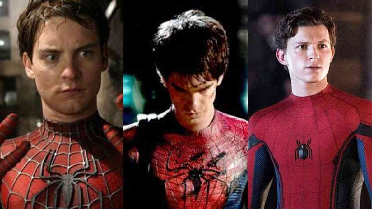 spider-man 3, spider-man, spider-man MCU, Spider-Man Far from Home, SPider-Man Homecoming, Tobey Mguire, Andrew Garfield