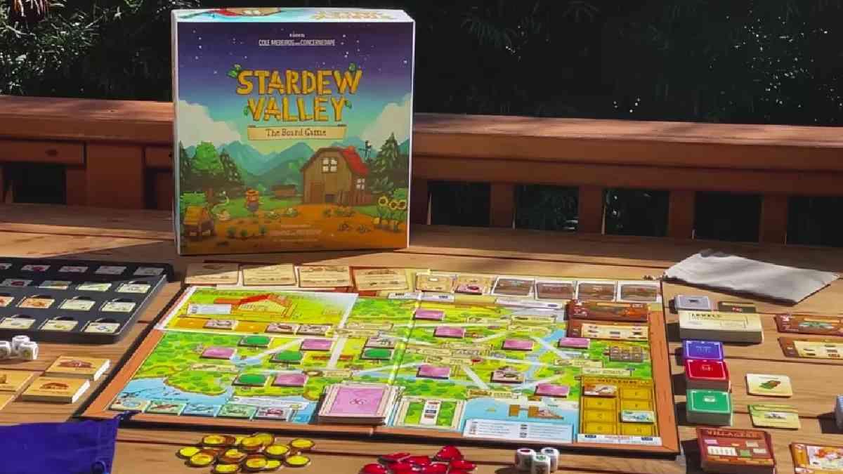 stardew valley, stardew valley gioco da tavolo, gioco da tavolo di stardew valley