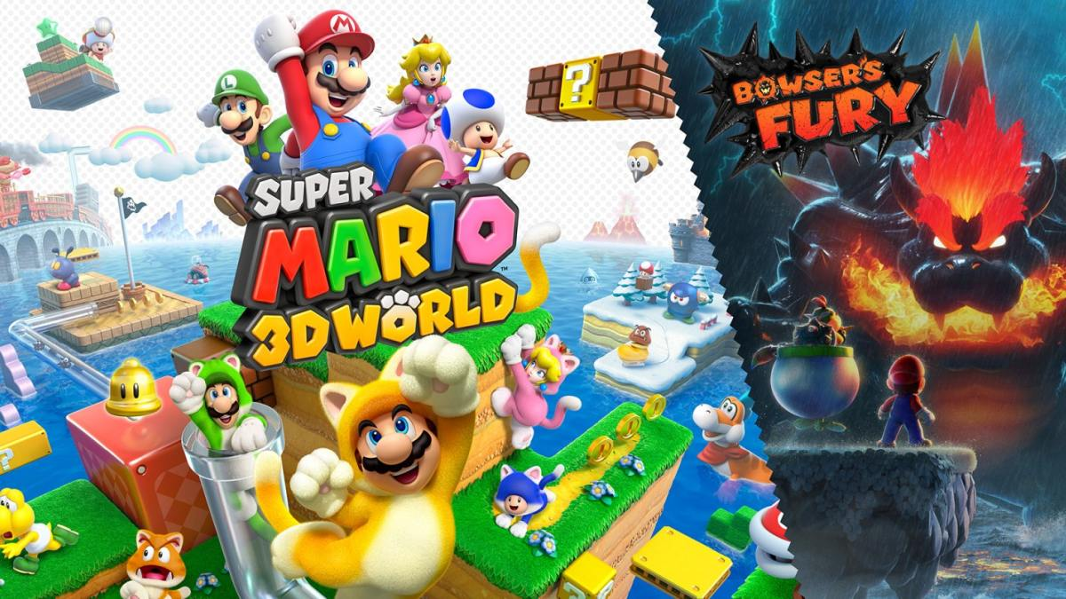 super mario 3d world + bowser's fury copertina