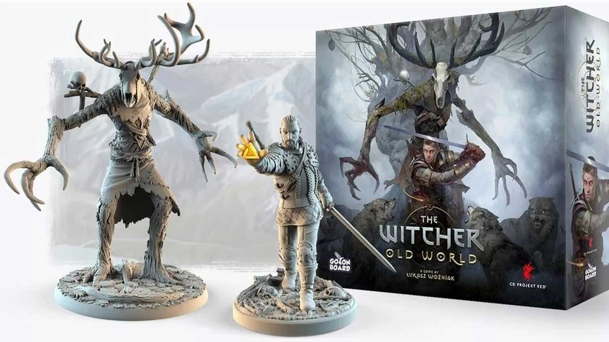 the witcher old world gioco da tavolo kickstarter