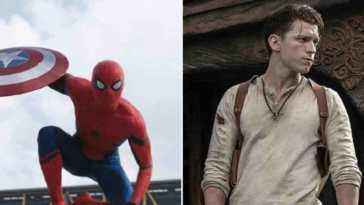spider-man, nathan drake, unchartd, uncharted il film, tom holland